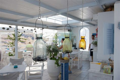 Cafe Santorini Day Shot Picture by Gallery Galini Cafe Santorini Cafe Lounge Bar In