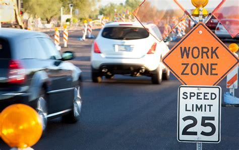 staying safe  work zone traffic travelers insurance
