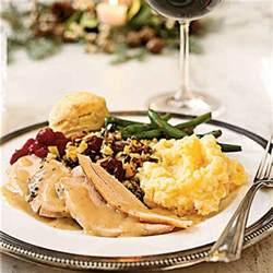 traditional thanksgiving menus myrecipes
