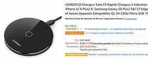 Chargeur Induction Iphone 8 : la meilleure vente amazon de chargeur par induction ~ Melissatoandfro.com Idées de Décoration