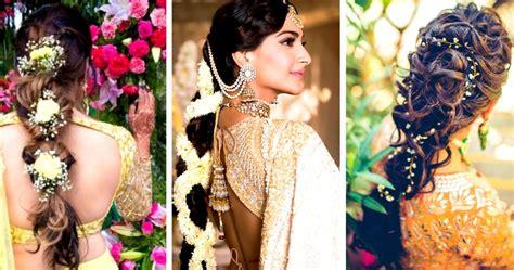 Wedding Hairstyles Indian : 30 Best Indian Bridal Hairstyles Trending This Wedding