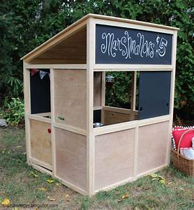 Ana White Indoor Playhouse Modern Bungalow - DIY Projects