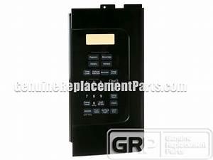 Ge Jvm1540dm4ww Touchpad  Control Panel  Keypad