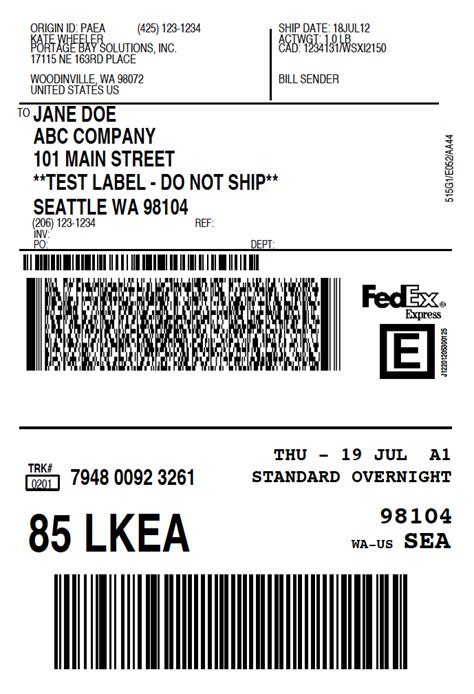 Fedex Label Template Word by Shipping Labels 101 3 Ways To Create Shipping Labels
