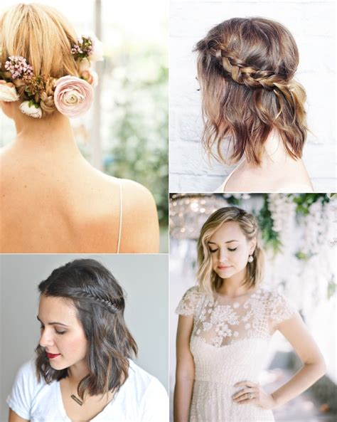 braided wedding hairstyles for short hair 9 short wedding hairstyles for brides with short hair