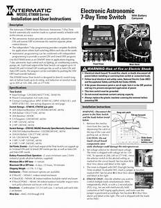 Download Free Pdf For Intermatic Et8000 Time Switches