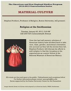 Events Department Of Religion Boston University