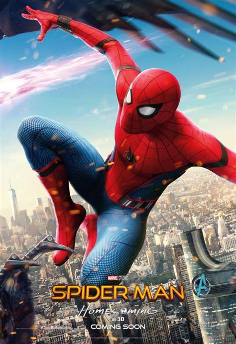 kinoposter zu spider man homecoming  sf fande