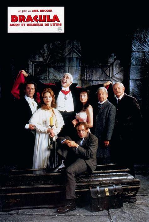leslie nielsen halloween movie quot dracula dead and loving it quot german cast poster 1995 l