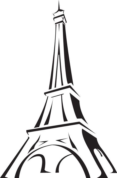 paris eiffel tower cartoon   wallpaper