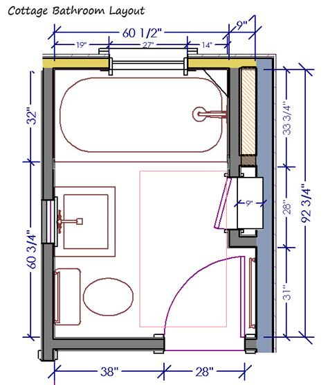 design a bathroom layout cottage bathroom layout and inspiration design