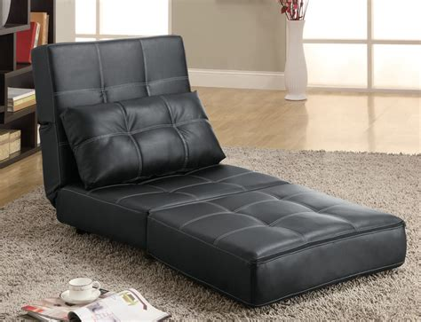 sofa chair beds 300173 lounge chair sofa bed by coaster