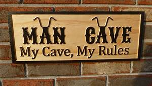 Biker, Theme, Man, Cave, Sign, -, Projects
