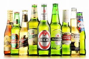 Bottles Of Assorted Global Beer Brands Editorial Image ...