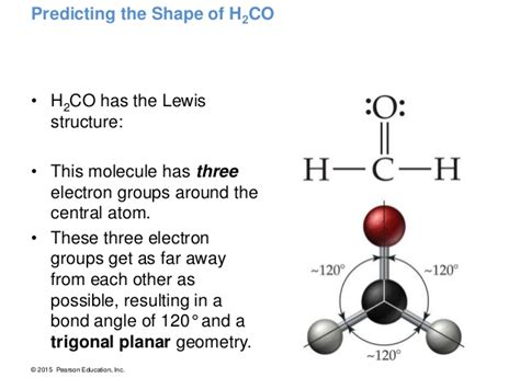 molecular geometry h2co lewis structure