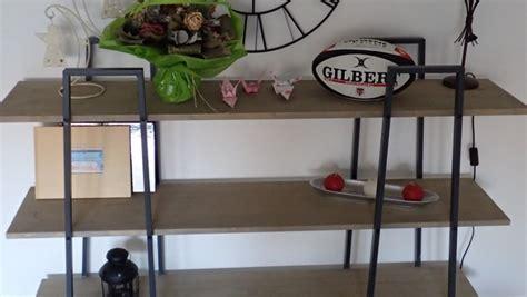 meuble de cuisine style industriel fabriquer des étagères style industriel à partir d