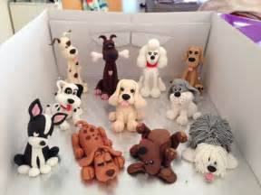 dog wedding cake toppers dog figures fondant sheep dalmation hound terrier