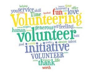 volunteer wordle volunteer thank you