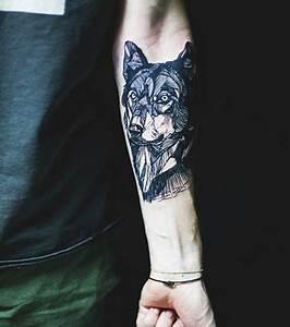 Tatouage Loup Geometrique : tatouage loup les meilleures id es pour un tattoo loup ~ Melissatoandfro.com Idées de Décoration