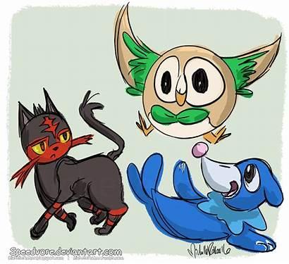 Pokemon Gen Starters Deviantart Favourites