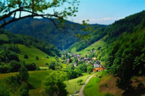 beautiful good morning village images hd