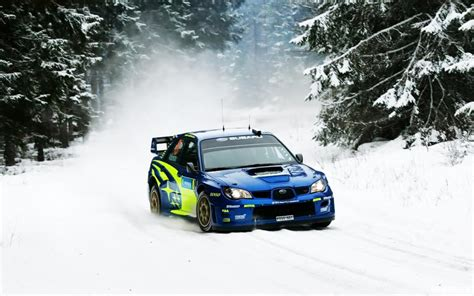subaru snow subaru wrx sti rally snow hd wallpaper cars wallpaper