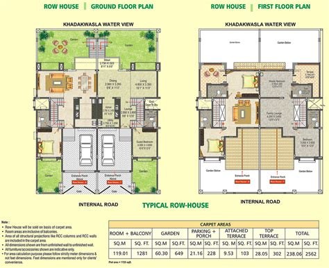 Small Row House Plans  Joy Studio Design Gallery Best