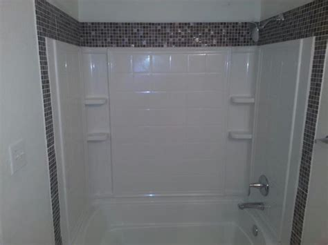 tile trim  shower entrykitchenbathlaundry