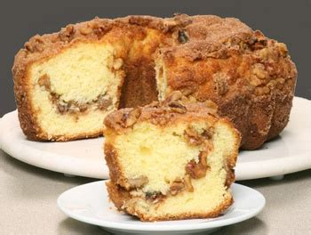 Fast, securing ordering from our website. Boston Coffee Cake - Original Cinnamon Walnut. Mmmm.   Coffee cake, Baking recipes, Cupcake recipes