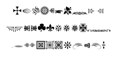 fonts with great glyphs which fonts have the best glyphs