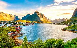 Norway Stunning Landscape Wallpaper for Widescreen Desktop