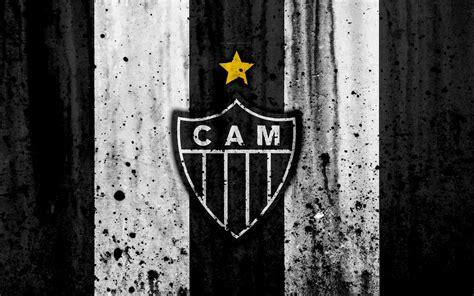 Download imagens FC Atletico Mineiro, 4k, grunge ...