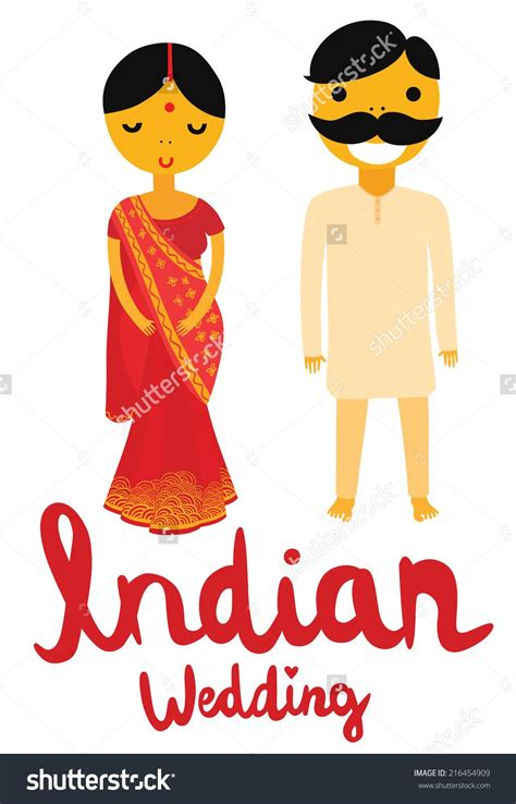 indian bride  groom clipart   cliparts