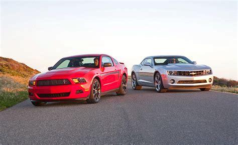 Mustang Vs. Camaro