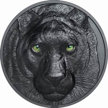 Panther Night Hunters Coin Oz Palau Proof