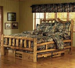 Oak King Bedroom Set by How To Build A Log Bed Tutorial Home Design Garden
