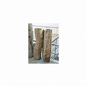 Tronc Bois Flotté : vente de tronc d coratif bois flott 120 cm ~ Dallasstarsshop.com Idées de Décoration