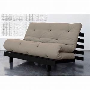 Banquette lit 3 positions avec futon karup beige for Luminaire chambre enfant avec banquette futon 4 positions