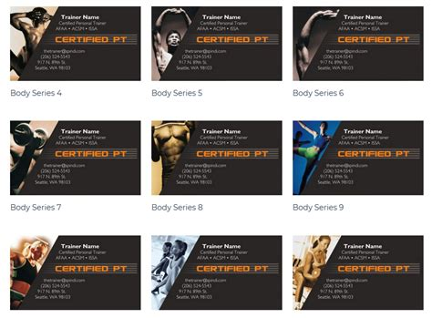 Create your own personal trainer business cards. Top 27 Personal Trainer Business Cards Tips
