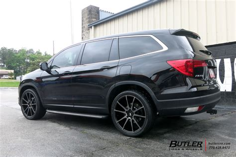 Honda Pilot With 22in Savini Bm13 Wheels Exclusively From