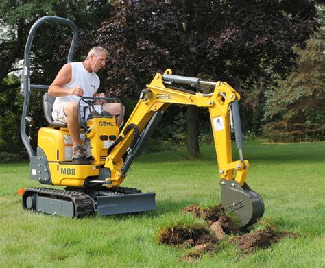micro machines  track   smallest mini excavators   market compact equipment