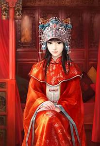 [Chinese traditional wedding dress] Don't you think the ...