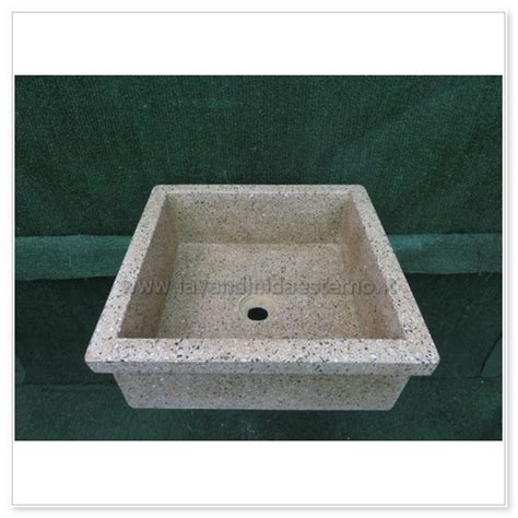 lavello graniglia lavello da giardino pilozzo in graniglia levigata 231