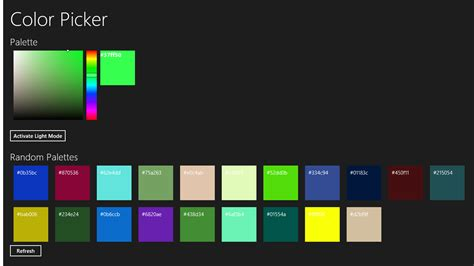 html color picker from image color picker for windows 10