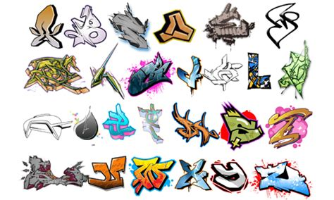 Download Abjad Grafiti : 29 Cool Graffiti Brushes For Free