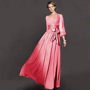 top rated plus size women autumn winter long sleeve maxi With long sleeve maxi dresses for weddings