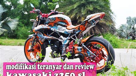 Kawasaki Z250 Modification by 90 Modifikasi Motor Z250 Sobat Modifikasi