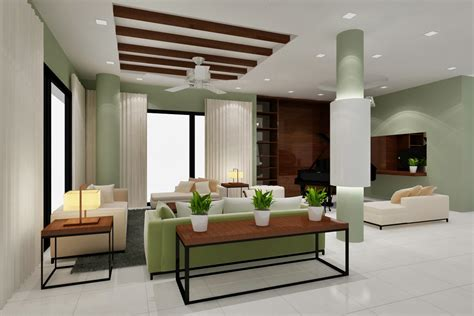 Interior Design :  Modern Tropical Interior Design By