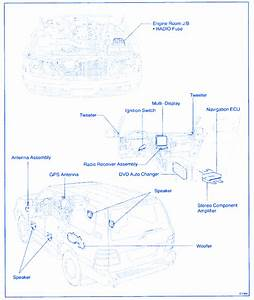 Lexus Lx 470 2001 Fuse Box  Block Circuit Breaker Diagram