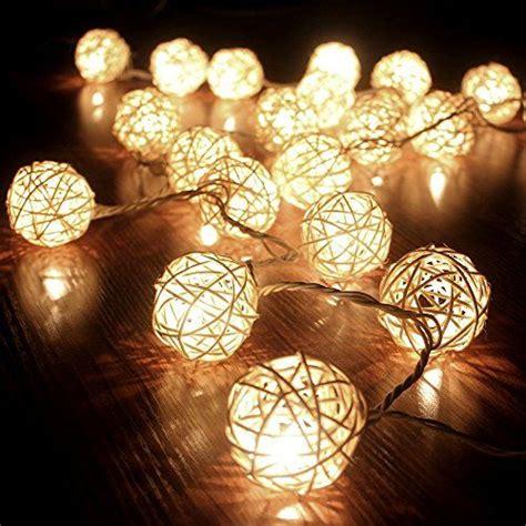 guirlande lumineuse pour chambre b cmyk guirlande boule rotin blanc 20 boules guirlande
